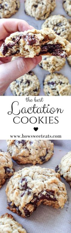 my favorite lactation cookies, so great for new moms! by /howsweeteats/ I http://howsweeteats.com