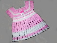 Baby crochet dress | Free Download