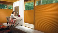 Versatilidad, funcionalidad y modernidad es lo que te ofrecen las cortinas #Duette de #HunterDouglas