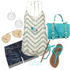 Where's the beach?!, created by sweetlikecandycane on Polyvore