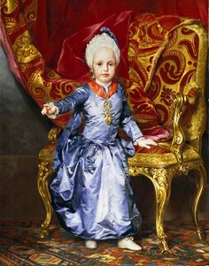 Anton Raphael Mengs - The Archduke Francis of Austria, 1770