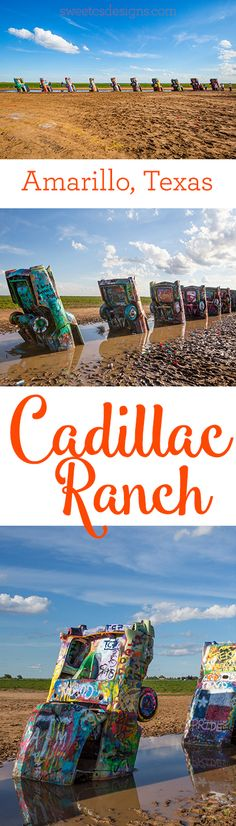 Quick view of Cadillac Ranch along Route 66 in Texas. Texas Vacations, Texas Roadtrip, Texas Travel, Travel Usa, Dallas Travel, Family Vacations, Oh The Places You'll Go, Places To Travel, Places To Visit