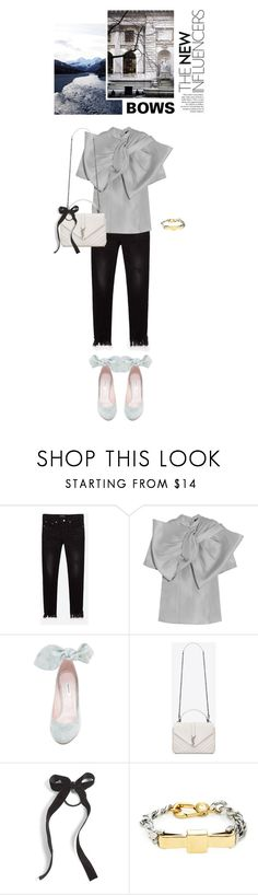 """""""/ Sandefjord"""" by kelly-m-o ❤ liked on Polyvore featuring Marc by Marc Jacobs, Carven, Yves Saint Laurent and Cara"""
