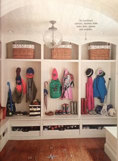 Need this in my laundry room to store boy's hockey equipment