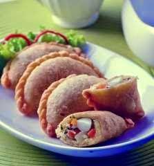 resep kue pastel goreng dengan isian telur - resep masakan indonesia