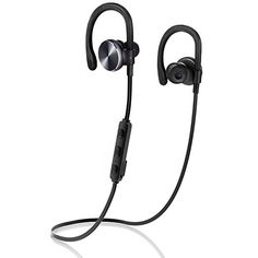 Cycling Biking: Bluetooth Headphones COULAX Bluetooth V4.1 Wireless Sweatproof Running Headset Over-Ear Sports Earbuds with Mic/APT-x and Noise Cancelling for iPhone 6s Samsung Galaxy S6/Edge and Android Phone ** For more information, visit image link.