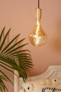 Oak Pendant | Anthropologie Electrical Outlets, Chandelier Pendant Lights, Walnut Wood, One Light, Save Energy, Bulb, Ceiling Lights, Anthropologie, Design Projects