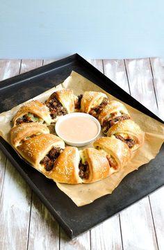 Cheeseburger Ring. Für Viele. Knaller! | www.vegan-thermomix.de Blog Feed | Bloglovin'