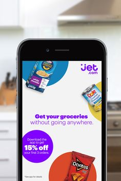 Jet: Online Shopping App for Discounts on Grocery Items, Furniture & Home Goods