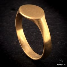 Золото перстень мизинец кольцо перстень от JunamJewelry на Etsy