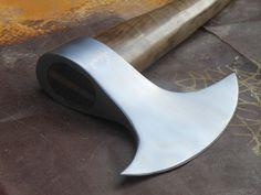 Hand Forged Custom Made 5160 Spring Steel Tomahawk Viking War Battle Axe | eBay