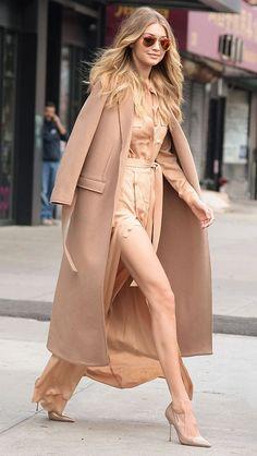 camel cashmere coat