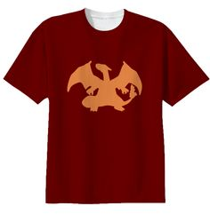 Pokèmon shirt charizard  #pokemon #tshirt #charizard #red