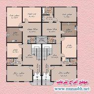 مخططات منازل جزائرية Dream House Plans House Plans Floor Plans