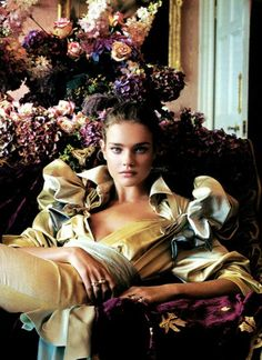 "Natalia Vodianova by Patrick Demarchelier for Vanity Fair  ""A Fashion Fairy Tale"" 