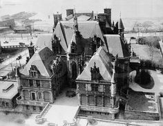 1910s - Charles M. Schwab mansion, West End Ave & Riverside Drive, 73rd to 74th Sts, demolished 1948.