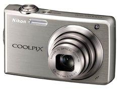 Nikon Coolpix Digital Camera with Optical Vibration Reduction (VR) Zoom and inch LCD (Titanium Silver) Gopro Hero 3 Silver, Silver Prices, Nikon Coolpix, Camera Nikon, Fujifilm Instax Mini, Digital Camera, Image, Vr, Fonts