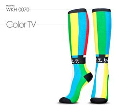WKH-0124 : Color TV /  When I had color TV set in 1980, I was in shock.