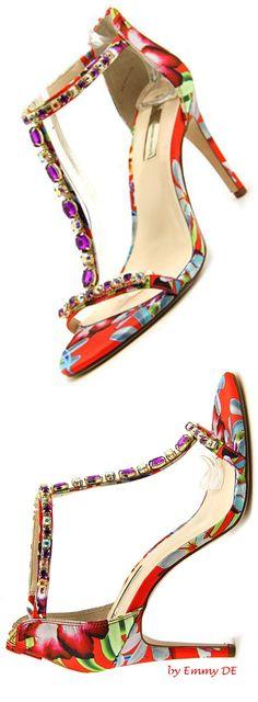 Emmy DE * Multi Color Slingback Sandal