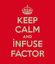 KEEP CALM AND İNFUSE FACTOR mens t shirts.