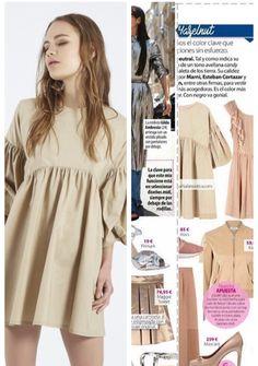 Vestido Nance Beige de nuestra tienda midiroom13 en la revista Stilo