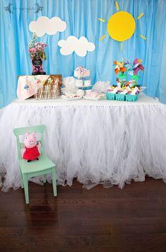DIY Peppa Pig Picnic Birthday Party | Five Marigolds
