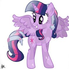 Twilight Sparkle Alicorn Crystal by OceanHorse00.deviantart.com on @deviantART