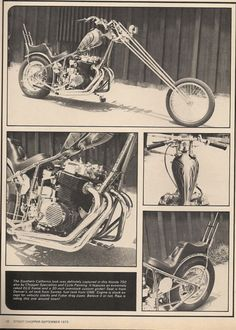 #Honda #CB750 from Street #Chopper magazine. #Motorcycle #Motorbike #Vintage #Metric