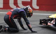 pi  El ya 4 veces Campeón del Mundo, Sebastian Vettel, celebrando en Buddh 1