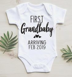 First Grandchild Announcement / First Grandbaby / February Baby Announcement / D. - First Grandchild Announcement / First Grandbaby / February Baby Announcement / Due in February / Ba - The Babys, Pregnancy Announcement To Parents, Baby Boy Announcement, Pregnancy Info, Baby Announcements, Surprise Pregnancy, Announce Pregnancy, Grandparent Pregnancy Announcement, Pregnancy Books