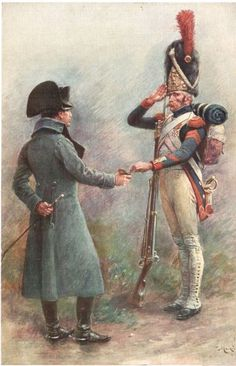 The Emperor offering a pinch of snuff to one of his decorated Grognards (Grenadier Guards)….a high honor. The Emperor offering a pinch of snuff to one of his decorated Grognards (Grenadier Guards)….a high honor. Military Art, Military History, Military Divisions, First French Empire, Urban Rivals, Napoleon Josephine, Battle Of Waterloo, French Army, French Revolution