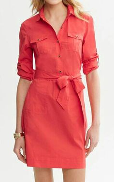 Shop Your Shape: Casual Dresses : Cute dresses that flatter your body type Cute Summer Dresses, Simple Dresses, Cute Dresses, Casual Dresses, Casual Outfits, Cute Outfits, Dresses Dresses, Casual Clothes, Dress Outfits