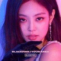 Blackpink Jennie - Blackpink In Your Area Album ( Jennie Ver. Blackpink Jennie, Kpop Girl Groups, Korean Girl Groups, Kpop Girls, Anime Girls, Yg Entertainment, K Pop, Jenny Kim, Blackpink Members