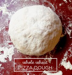 Whole Wheat Pizza Dough from @BriGeeski