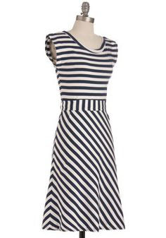 Riviera Romance Dress in Navy, #ModCloth