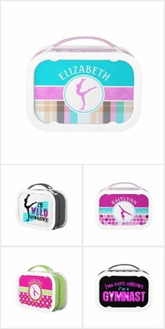 Golly Girls- Gymnastics Lunchboxes
