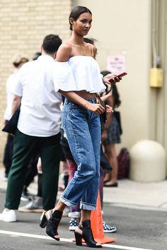 Lais Ribeiro - Summer Outfit Idea 2017 | Model Off-Duty