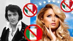 16 FAMOSOS QUE ODIAN A LOS MEXICANOS  Y A LOS LATINOS  ''NOS ODIAN'' Y T...