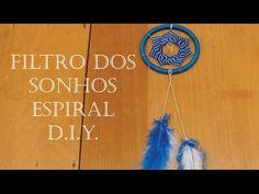 Filtro dos Sonhos Espiral - D.I.Y.