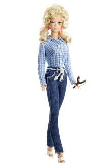 Hollywood Dolls - View Hollywood Barbie & Celebrity Dolls   Barbie Collector~ Ellie May Clampet, Beverly Hill Billies
