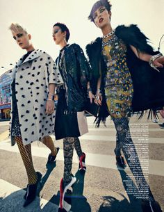 """""""Chic Shine Punk"""" by Sebastian Kim for Vogue Russia October 2013"""