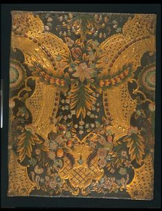 Leather panel | Holland,1700-1750 l V&A Search the Collections