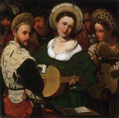 Callisto Piazza (Calisto de la Piaza da Lodi), Italian (1524-1561) - Musical Group