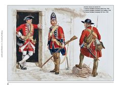 SYW- Britain: British Army Infantry, mid by Gerry Embleton. Military Weapons, Military Art, Military History, British Army Uniform, British Uniforms, Frederick The Great, British Armed Forces, Army Infantry, Seven Years' War