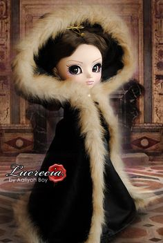 Lucrecia (outfit and hairstyle by Aaliyoh Boy)
