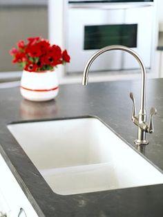 Corian Countertops, under-mounted sink