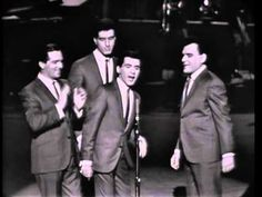 "Frankie Valli and The Four Seasons,  ""Big girls don't cry"". Stuck like glue to the # 1 space for FIVE weeks. 1962."