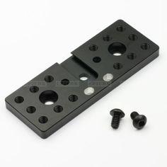 1-4-Adapter-Mounting-Cheese-Plate-fr-Blackmagic-Cinema-Camera-Pocket-15mm-Rod