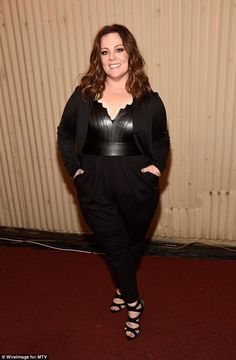 Smouldering:Melissa McCarthy was feted with the Comedic Genius prize at Saturday night's ...