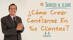 Servicio y Atención Al Cliente:Como Crear Confianza En Tus Clientes. www.oneononecoach.co / Alejandro Velandia